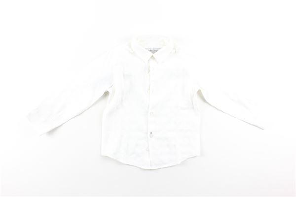 camicia manica lunga tinta unita con microfantasia JOHN TWING | Camicie | JTB9256BIANCO