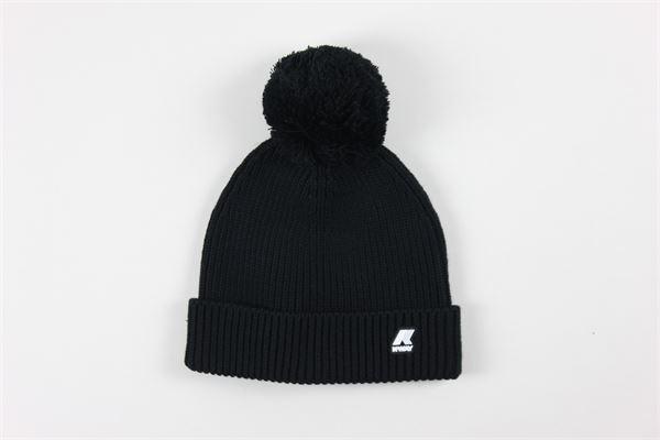 cappello con logo K-WAY | Cappelli | K111FWWNERO