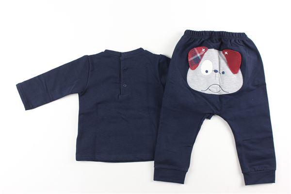 completo felpa+ pantalone tuta LALALU'   Completi   CFL1DXBLU