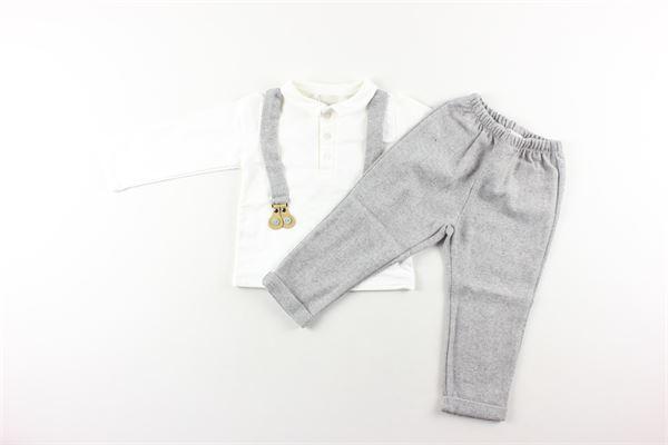 completo pantalone + camicia LALALU'   Completi   CTL9DGRIGIO