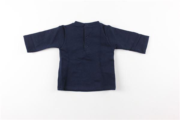 shirt tinta unita con stampa LALALU'   Shirts   SHIRLALBLU