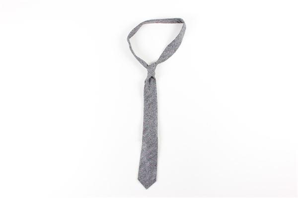 cravatta stampa fantasia L.B.M.1911 | Cravatte | 540589551GRIGIO