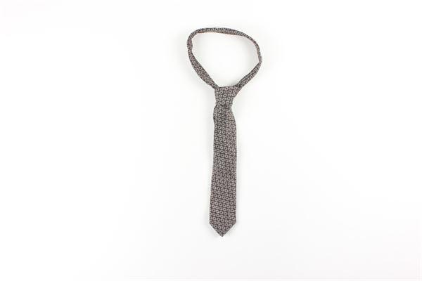 cravatta stampa fantasia L.B.M.1911 | Cravatte | 540589553MARRONE
