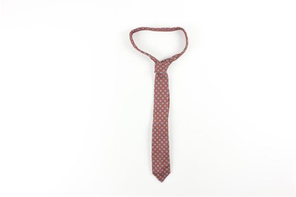 cravatta stampa fantasia L.B.M.1911 | Cravatte | 540599583ROSSO