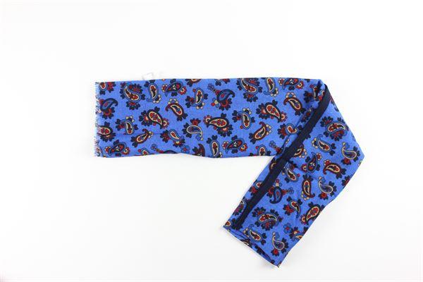 foulard stampa fantasia L.B.M.1911 | Foulards | 65789573BLU