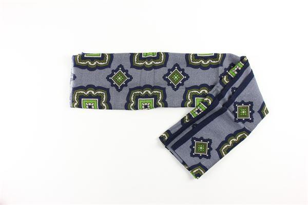 foulard stampa fantasia L.B.M.1911 | Foulards | 65789576BLU