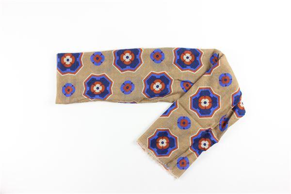 foulard stampa fantasia L.B.M.1911 | Foulards | 995576578BEIGE