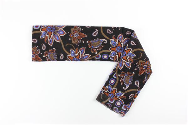 foulard stampa fantasia L.B.M.1911 | Foulards | 995586578MULTICOLOR