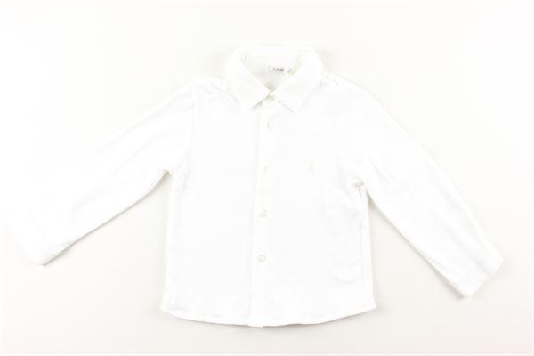 camicia in cotone caldo manica lunga LE BEBE'   Camicie   LBB1298BIANCO