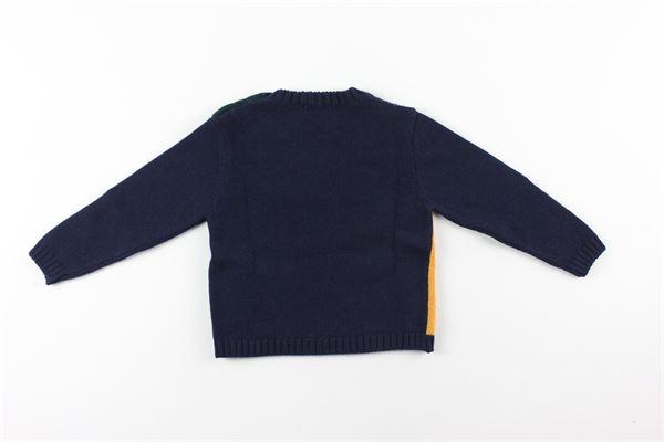 maglia multicolor LE BEBE'   Maglie   LBB2796BLU