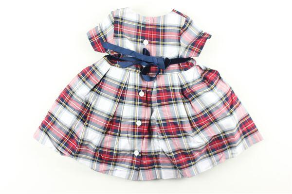 LITTLE BEAR | Dress | 8202ROSSO