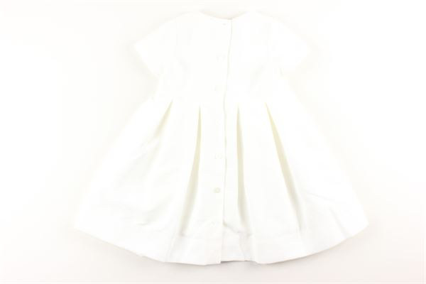 LITTLE BEAR | Dress | 8214BIANCO