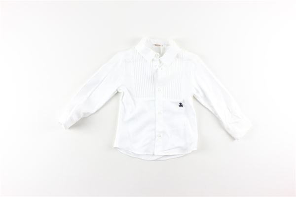 camicia manica lunga tinta unita 100%cotone LE BEBE'   Camicie   LBB1932BIANCO