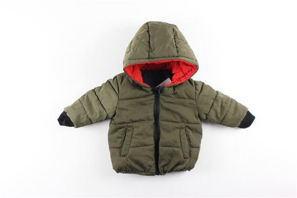 giubbini con zip e cappuccio reversibile LITTLE MARC JACOB | Giubbini | W06054VERDE/BLU