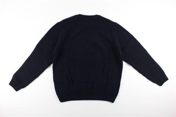 maglia girocollo tinta unita LORENZONI | Maglie | 22063510LBLU