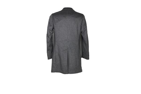 cappotto tinta unita 90%lana LUIGI BIANCHI MANTOVA SARTORIA | Giubbini | 730100515GRIGIO