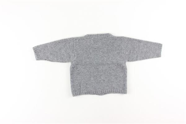 cardigan tinta unita in lana e cashmere M. FERRARI | Cardigan | MGM11GRIGIO