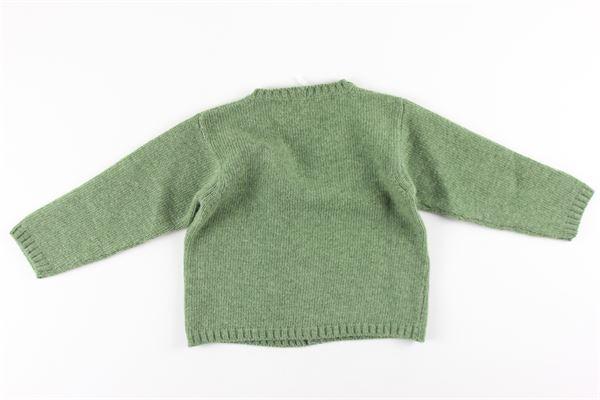 cardigan tinta unita in lana e cashmere M. FERRARI | Cardigan | MGM11VERDE