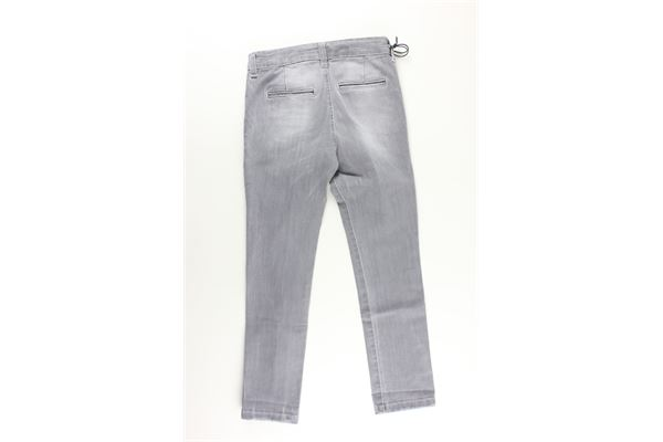 jeans tinta unita con strappi MANUEL & FRANK   Jeans   MF1016BGRIGIO