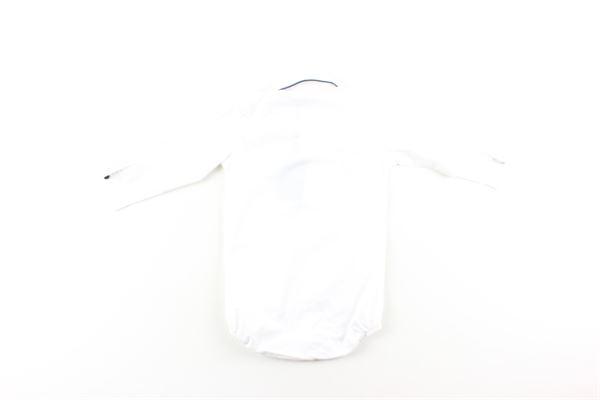 camicia body tinta unita manica lunga MANUEL & FRANK   Camicie   MF3080TBIANCO