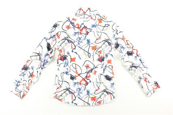 camicia stampa fantasia MANUEL & FRANK   Camicie   MF3129RBIANCO