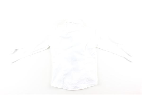 camicia tinta unita con profilo in  contrasto MANUEL & FRANK   Camicie   MF3133BBIANCO