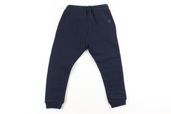pantaloni tuta tinta unita con profili in contrasto MANUEL RITZ | Pantaloni | MR0895BLU