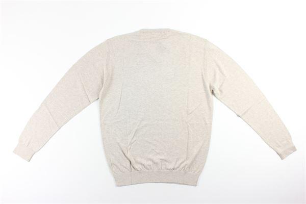 maglia girocollo tinta unita 60%cotone 30%seta 10%cashmere MARK UP   Maglie   MK89022VBEIGE