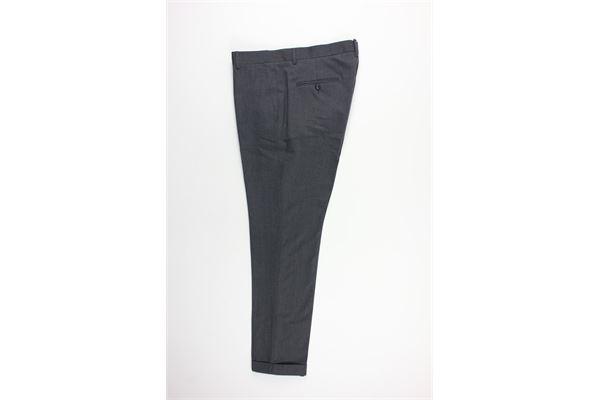 pantalone tinta unita tasche america MESSAGERIE | Pantaloni | 024506T09429GRIGIO