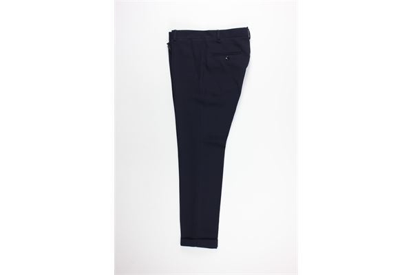 pantalone tinta unita tasche america MESSAGERIE | Pantaloni | 024506T09431BLU