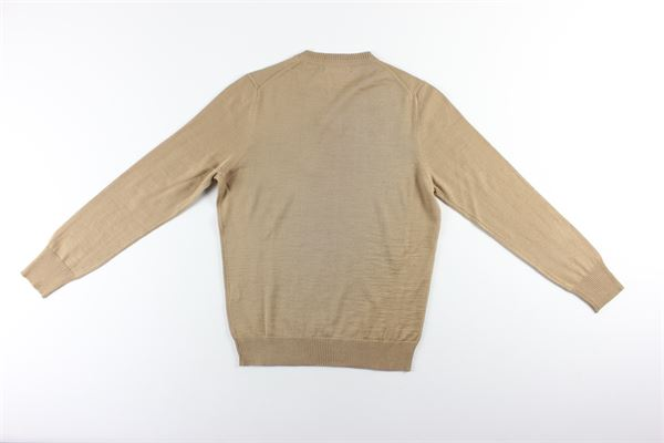 maglia girocollo tinta unita MESSAGERIE | Maglie | 221T09401BEIGE