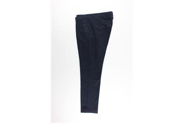 pantalone tinta unita tasca america MICHAEL COAL   Pantaloni   MCBRA25050BLU