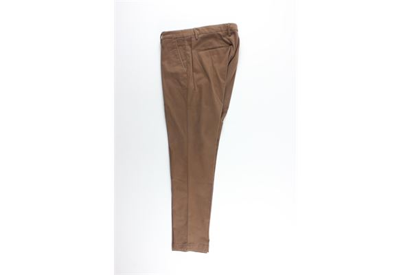pantalone tinta unita tasche america MICHAEL COAL   Pantaloni   MCBRA25050F20CCOCCIO