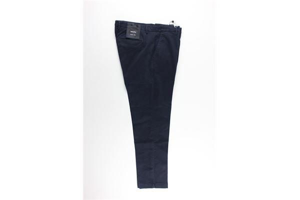 pantalone tinta unita tasche america MICHAEL COAL   Pantaloni   MCBRA2505F20CBLU