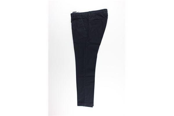 pantalone tinta unita tasca america MICHAEL COAL   Pantaloni   MCBRA2747BLU