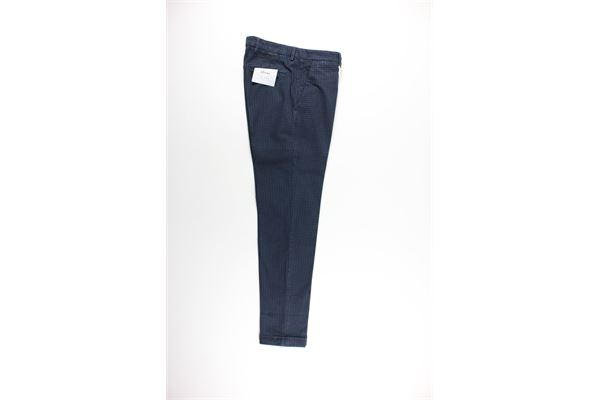 pantalone tinta unita tasca america stampa fantasia MICHAEL COAL   Pantaloni   MCRIC2729WF20LBLU
