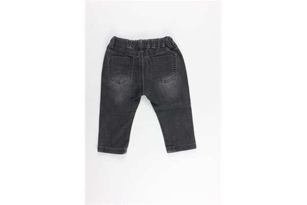 jeans elastico tinta unita MINI BANDA | Jeans | 3K642NERO