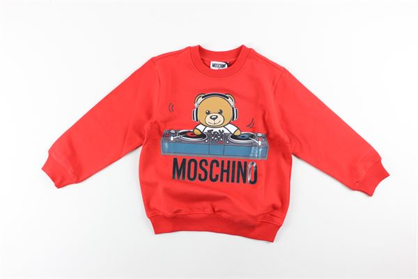 MOSCHINO | Sweatshits | HNF02HROSSO
