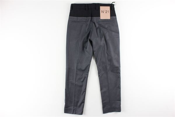 pantalone tinta unita tasca a filo N°21 | Pantaloni | N2145TGRIGIO