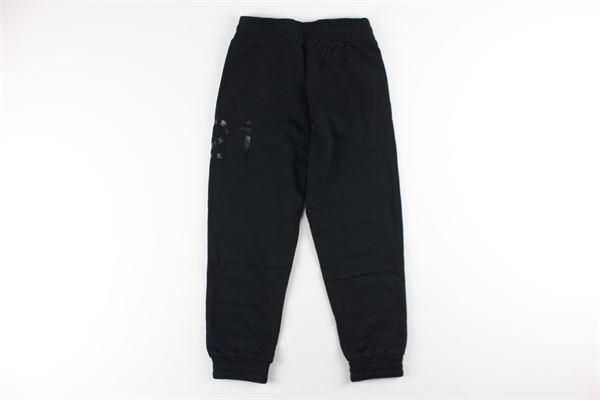 pantalone in felpa tinta unita N°21 | Pantaloni | N2147JNERO
