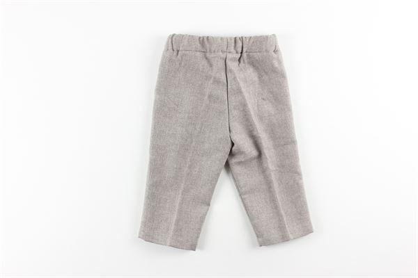pantalone tinta unita elastico in vita NANAN | Pantaloni | I15317236MARRONE