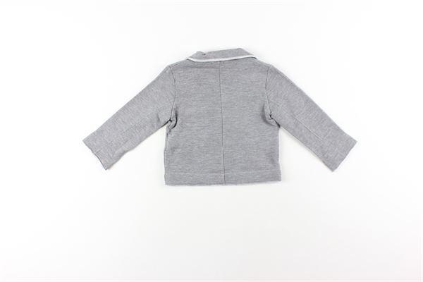 giacca tinta unita con tasche NANAN | Giacche | I19088GRIGIO
