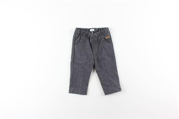pantalone tinta unita con elastico in vita NANAN | Pantaloni | I19163GRIGIO