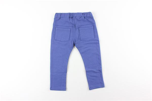pantalone tuta tinta unita NANAN | Pantaloni | I19169AZZURRO