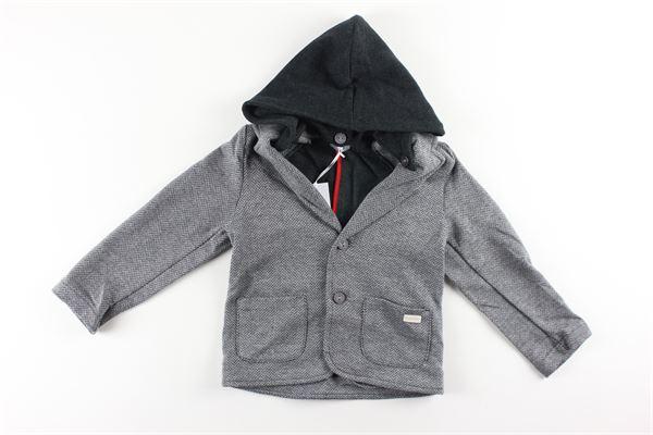 giacca stampa fantasia con cappuccio NANAN | Giacche | I2010224GRIGIO