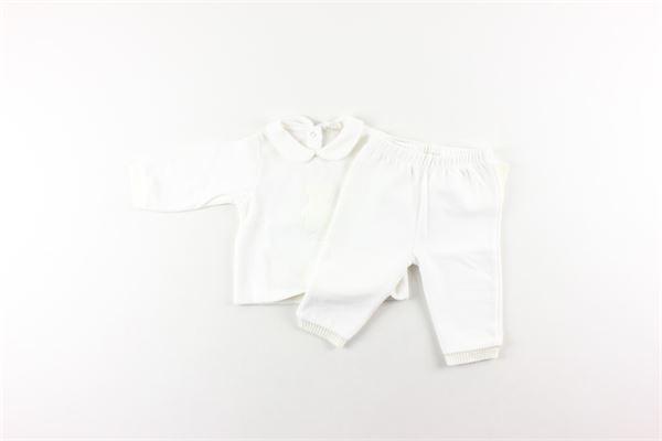 completo in cinigliashirt + pantalone NANAN | Completi | INF20306AABIANCO