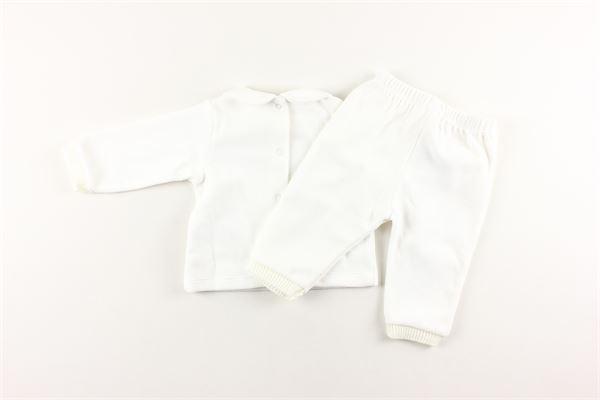 completo maglia+ pantalone in ciniglia NANAN | Completi | INF20306ABIANCO