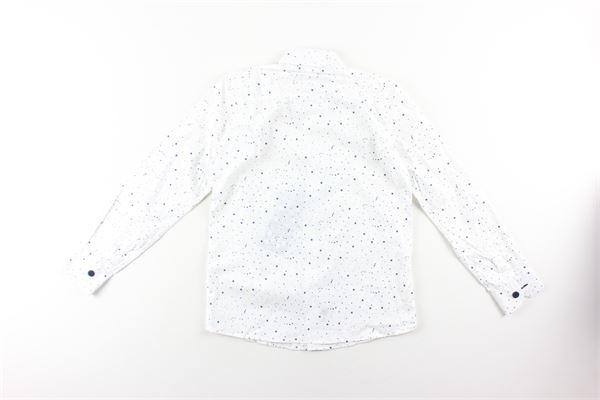 camicia manica lunga fantasia pois NEILL KATTER | Camicie | 51807BIANCO
