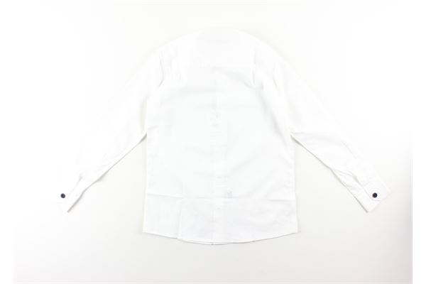 camicia manica lunga microfantasia NEILL KATTER | Camicie | 52198BIANCO