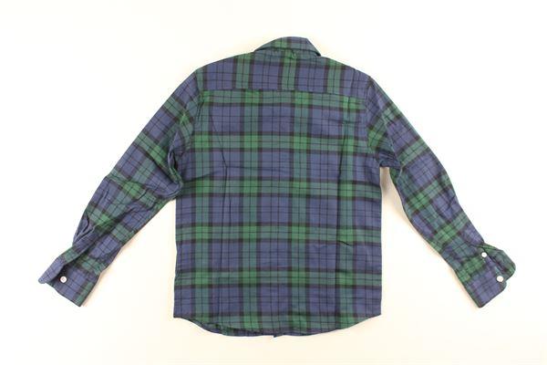 camicia manica lunga fantasia quadri NORTH SAILS | Camicie | 764131000VERDE